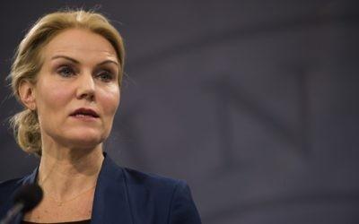 Helle Thorning-Schmidt (Crédit : AFP)