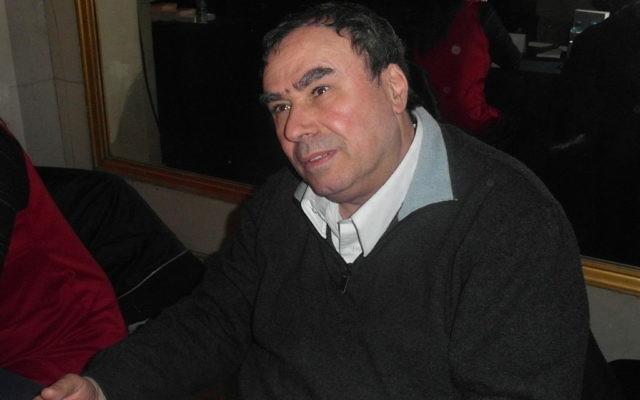 Benjamin Stora au 19ème Maghreb des Livres à Paris, le 16 février 2013. (Crédit : Indif/Creative Commons/Wikimédia)