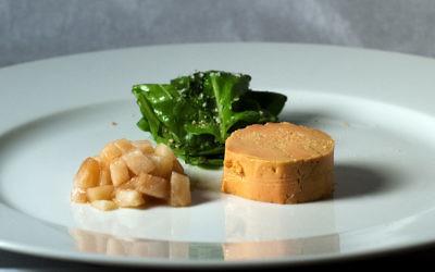 Illustration d'un lat de foie d'oie (Crédit : Luigi Anzivino/Wikimedia commons/)