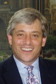 John Bercow (Crédit : CC-BY-SA Office of John Bercow, Wikimedia Commons)