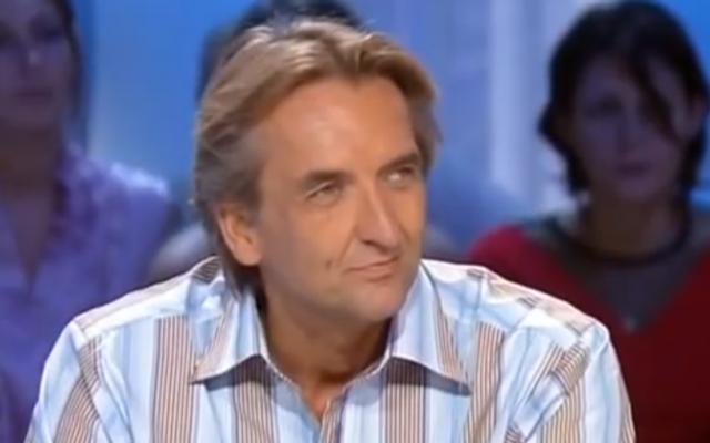 Capture d'écran Roger Auque - juin 2014 (Crédit : capture d'écran YouTube)