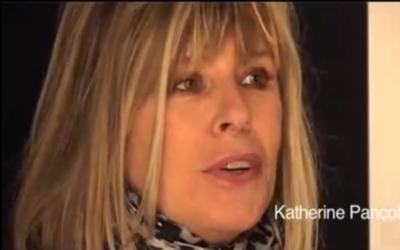 Capture d'écran Katherine Pancol (Crédit : YouTube)