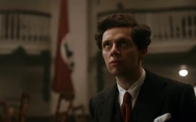 Christian Friedel dans le film Elser (Crédit : Capture d'écran YouTube)