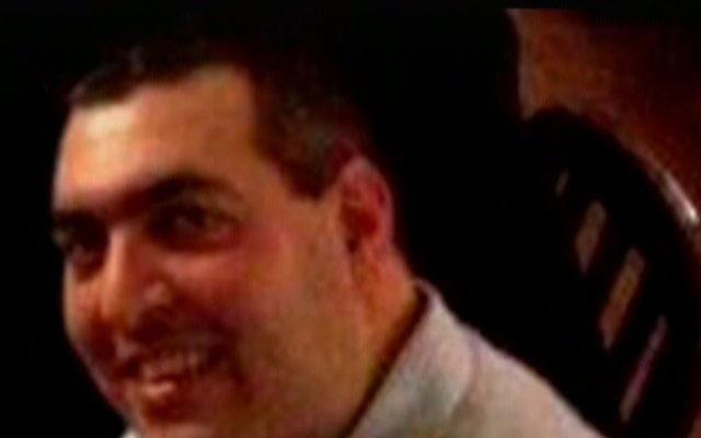 Le garde de la communauté juive de Copenhague, Dan Uzan, 37 ans, tué le 15 février 2015 dans une attaque terroriste  (Capture d'écran Deuxième chaîne)