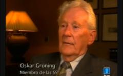 Oskar Gröning ( Crédit : Capture YouTube/TVE)