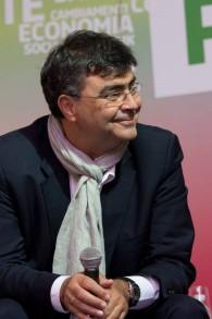 Le député juif, Emanuele Fiano, du parti démocratique et fils d'un survivant de la Shoah (Crédit : Autorisation )