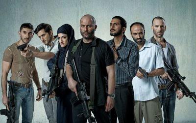 Le casting de Fouda, la nouvelle série de la chaîne Yes (Crédit : Ohad Romano)