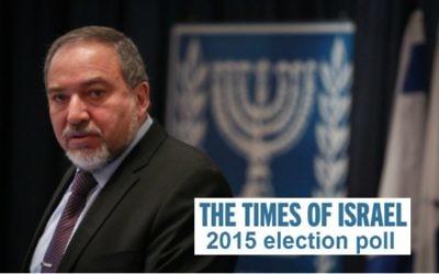 Le leader Yisrael Beytenu Avigdor Liberman