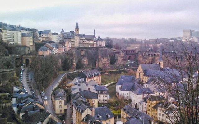 Vue de la ville de Luxembourg (Crédit : CC-BY-SA Sixdown/Wikimedia Commons)