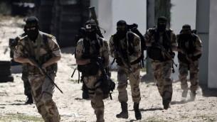 MembreS du Jihad islamique palestinien - 6 mars 2015 (Crédit : afp)