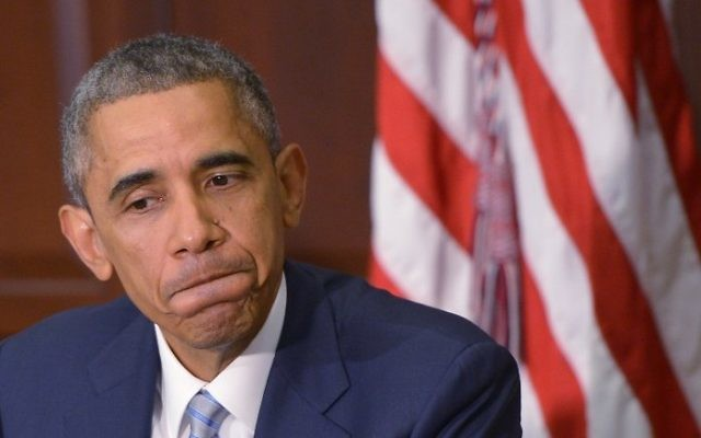 Le président Barack Obama (Crédit : AFP/Mandel Ngan)