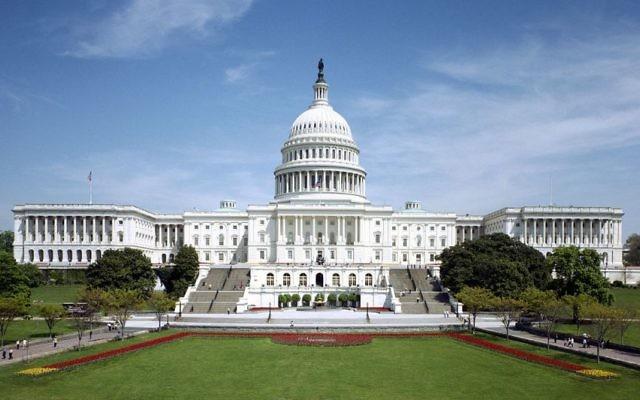 Le Capitole à Washington D.C., siège du Congrès. (Crédit : domaine public)