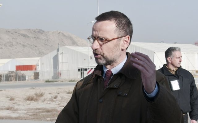 Fernando Gentilini, le futur envoyé spécial au processus de paix au Moyen-Orient (Crédit : CC BY ResoluteSupportMedia/Flickr)