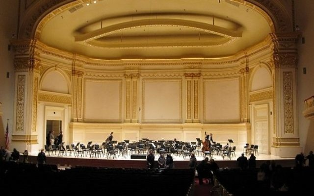 Carnegie Hall (Crédit : Wikimedia Commons)