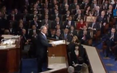 Benjamin Netanyahu au Congrès le 3 mars 2015