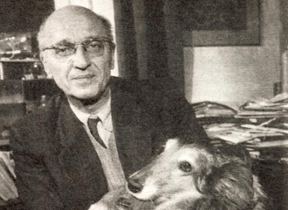 Jan Zabinski, directeur du zoo de Varsovie, qui a sauvé des centaines de Juifs pendant l'Holocauste. (Crédit : Wikimedia Commons/JTA)