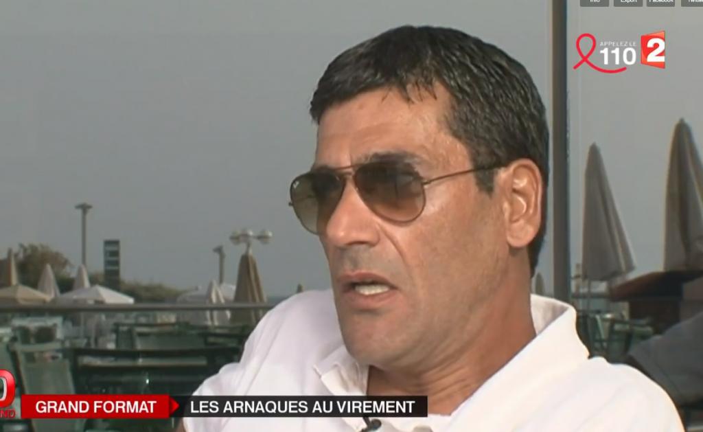 Gilbert Chikli (Crédit :capture d'écran France info)