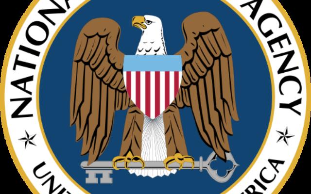 Logo de la NSA (Crédit : Wikimedia/Domaine public)