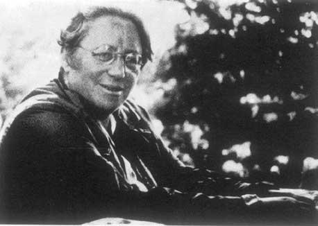 La mathématicienne juive allemande Emmy Noether (Crédit : domaine public)