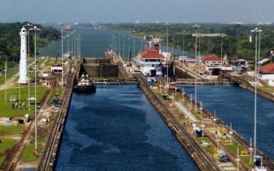 Le Canal du Panama (Crédit : Stan Shebs)