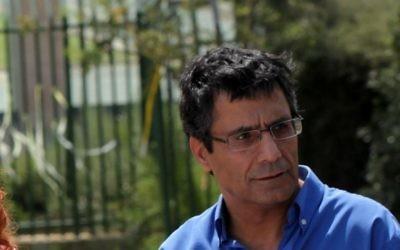 Yossi Yona  lors d'une conférence de presse en 2011. (crédit photo: Yossi Zamir/Flash 90)