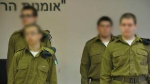 Des soldats de Roim Rachok (Crédit : IDF Spokesperson's Unit))