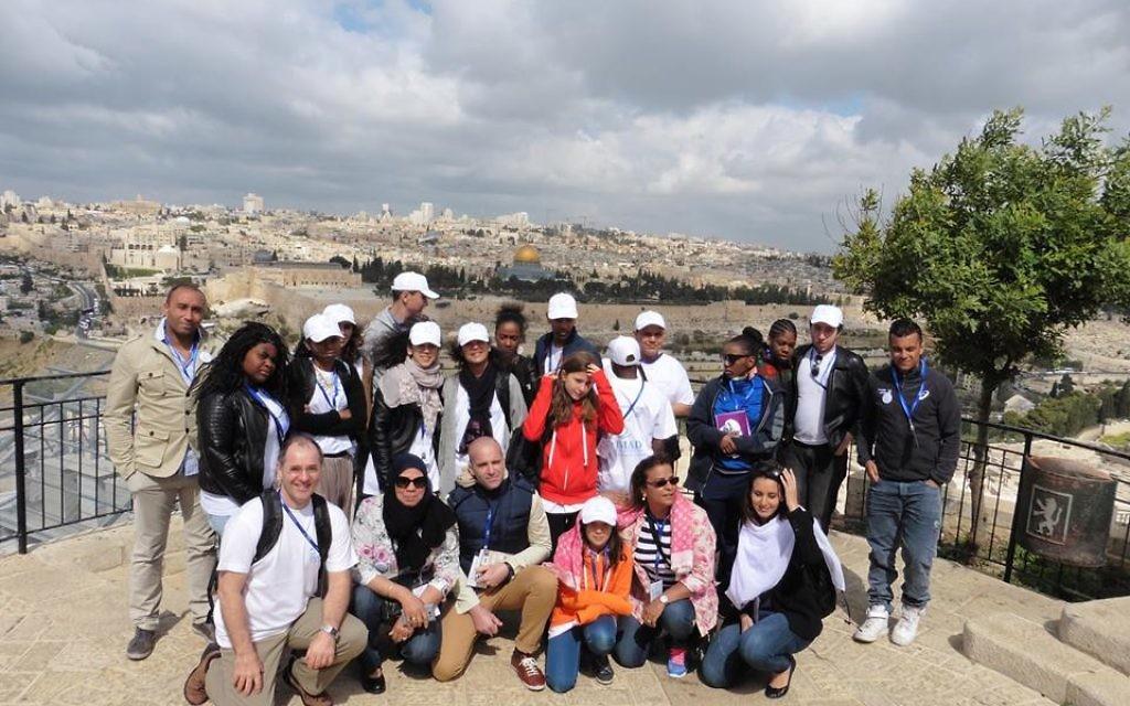 Les élèves de l'association Imad à Jérusalem (Crédit : autorisation)