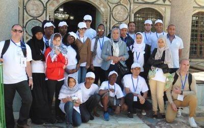 Les élèves de l'association Imad à Akko (Crédit : autorisation)