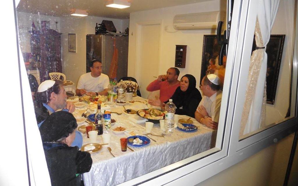 Photo prise dans la maison qui a accueilli les élèves et l'entourage de l'association Imad (Crédit : autorisation)