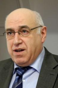 Le fils de la survivante de l'Holocauste Marie Jalowicz, l'historien Hermann Simon aujourd'hui (Crédit : Autorisation)