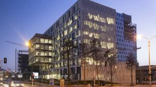 Le centre R & D  d'Apple, à Herzliya (Crédit : autorisation)