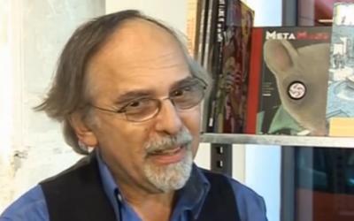 Art Spiegelman (Crédit : Capture d'écran YouTube/BBC)