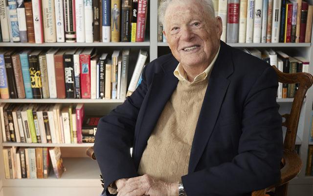 Robert Bernstein s'est publiquement écarté de Human Rights Watch, l'organisation qu'il a contribué à fonder et a longtemps supervisé (Crédit : Elizabeth Bernstein)