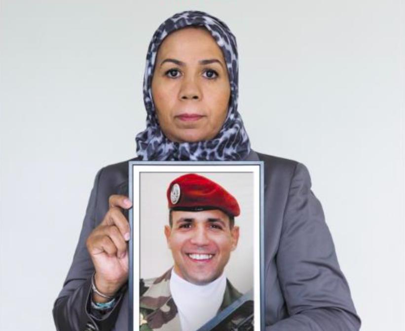 Latifa Ibn Ziaten a créé l'association « Imad Ibn Ziaten pour la jeunesse et la paix » (Crédit : Facebook)