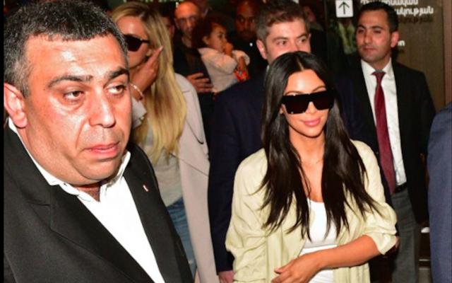 Kim Kardashian en Arménie pour la commémoration du génocide - 8 avril 2015 (Crédit : AFP)