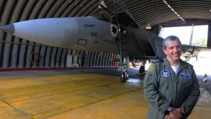 Amir Eshel, le commandant de l'armée de l'air israélienne (Crédit photo : Yossi Zeliger / Flash90)