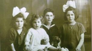 Les enfants Polak (de gauche à droite): Betty, Liesje, Jaap et Juul. Tous, sauf Juul ont survécu à l'Holocauste. (Autorisation)
