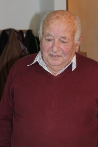 L'ancien résistant slovaque Chanan Karshai. (Crédit : Amanda Borschel-Dan/The Times of Israel)