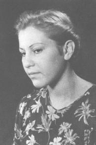 Marie Jalowicz en 1942 âgée de 20 ans (Crédit : Autorisation)