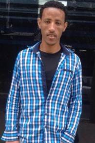L'une des victimes, « T », était dans le centre de détention Holot dans le sud d'Israël avant d'opter de partir vers un pays tiers (Crédit : Autorisation d'Israel's Hotline for Refugees and Migrants )