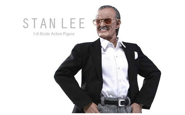 La figurine Stan Lee. (Autorisation Das Toyz)