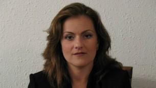 La procureure Victoria Gelfand qui se spécialise dans la GPA étrangère (Crédit : Lev Marcovitz)