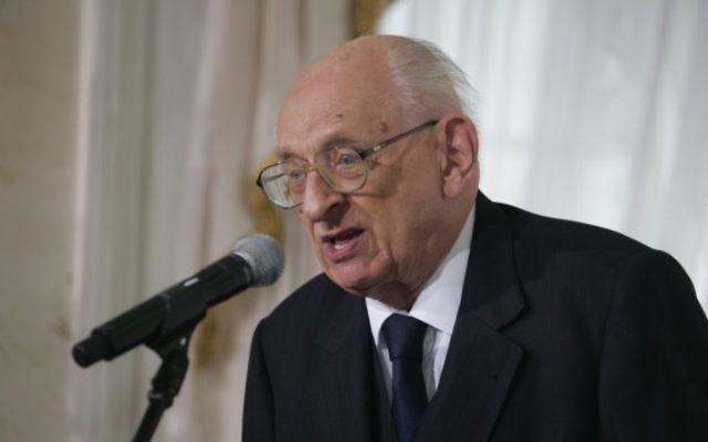 Wladyslaw Bartoszewski (Crédit: CC BY/ Bronisław Komorowski, Wikimedia Commons)