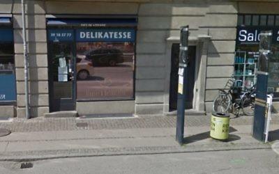 Vue sur la façade du magasin (Crédit : Google Street View)