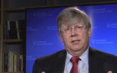 L'ancien directeur adjoint de l'AIEA Olli Heinonen (Crédit photo: Capture d'écran YouTube)