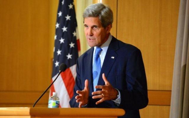 John Kerry le 9 avril 2015 (Crédit photo: Département d'Etat américain)