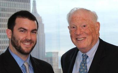 David Keyes (à gauche) et Robert Bernstein, le cerveau derrière Advancing Human Rights (D.R)