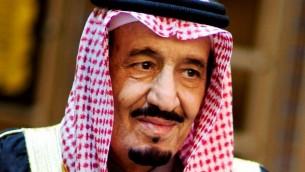 Le roi Salmane ben Abdelaziz (Crédit : Wikimedia)