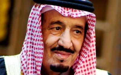 Le roi Salmane ben Abdel Aziz al-Saoud (Crédit : Wikimedia)