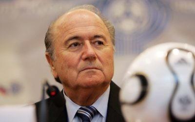 Le président de la FIFA Joseph Blatter. (Crédit : Sepp Blatter image via Shutterstock)